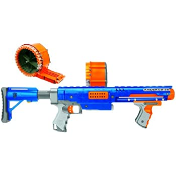 Amazon Com Nerf Raider Cs 35 Dart Blaster Value Pack