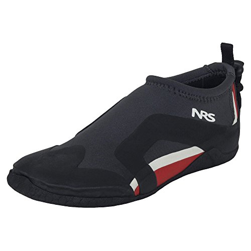 NRS 2mm Kinetic Water Shoe - Black/Red, 12