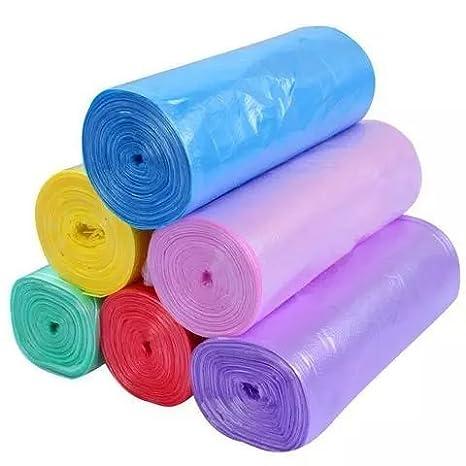 L/7,5 l bolsas de basura, 6 rollos (120bags) bolsas de bolsa de basura – cubo de basura para cocina Hogar -- 6 color