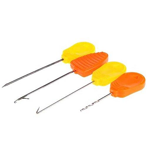 4PCs Carp Fishing Splicing Needle Baiting Hook Drill Rig Making Accessories Gift