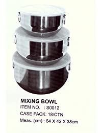 Purchase 3PC MIXING BOWL SET, Case Pack of 18 deliver