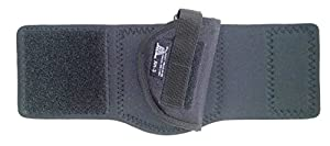DTOM AH3 Neoprene and Nylon Ankle Holster for Ruger LCP, S&W Bodyguard 380, Walther PPK / PPK-S, Beretta 3032, and More - AH3