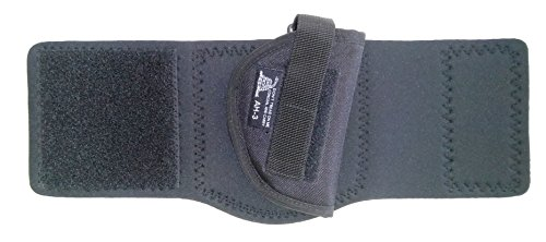 DTOM-AH3-Neoprene-and-Nylon-Ankle-Holster-for-Ruger-LCP-SW-Bodyguard-380-Walther-PPK-PPK-S-Beretta-3032-and-More-AH3