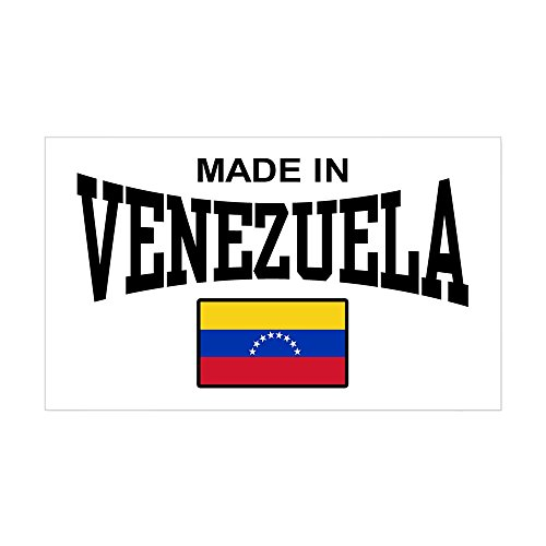 CafePress Made in Venezuela Rectangle Bumper Sticker Car Decal -