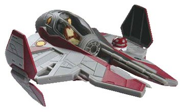 Star Wars Obiwan's Jedi Starfighter Model Kit (Jedi Model Starfighter)