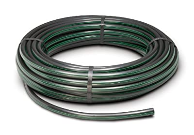 "Rain Bird T63-100S Drip Irrigation 1/2"" (.630"" OD) Blank Distribution Tubing, 100' Roll, Black"