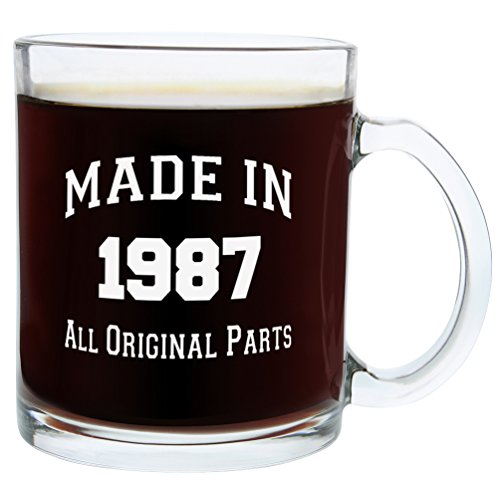 30th-Birthday-Gifts-Made-1987-Gift-Glass-Coffee-Mug-Tea-Cup