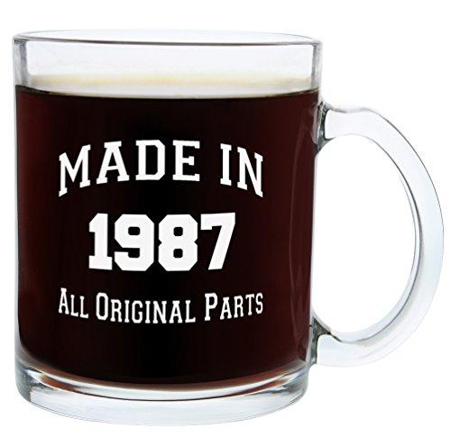 30th-Birthday-Gifts-Made-1987-Gift-Glass-Coffee-Mug-Tea-Cup