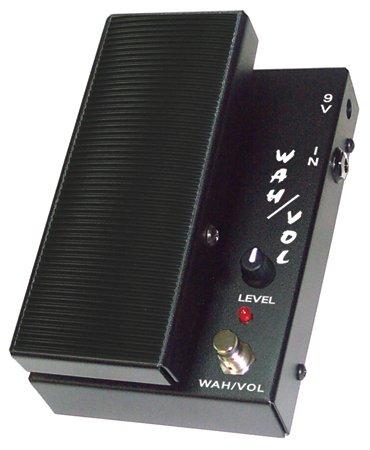 Morley MWV Mini Wah Volume Guitar Effects Pedal, Black