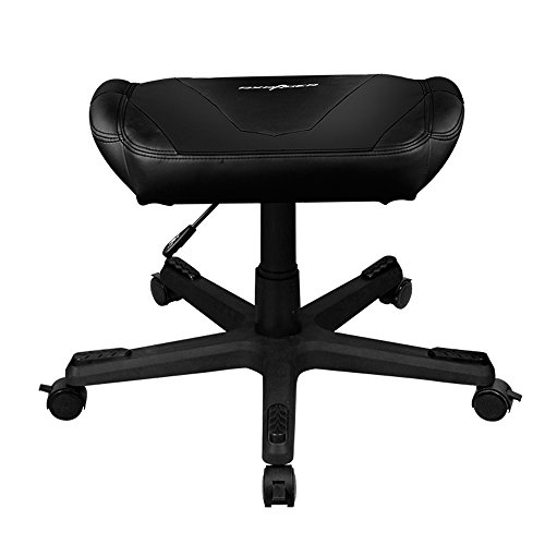 DXRacer DFR/FX0/N Adjustable Storage Ottoman Footstool Chair Gaming Seat Pouf Furniture (Black) Review