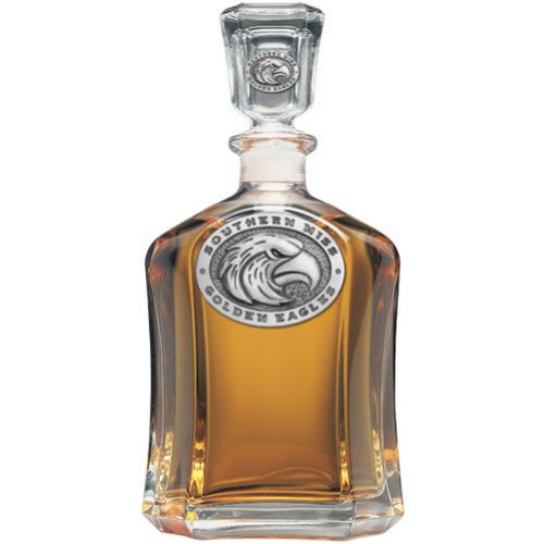 Used, Southern Mississippi Golden Eagles Glass Capitol Decanter for sale  Delivered anywhere in USA