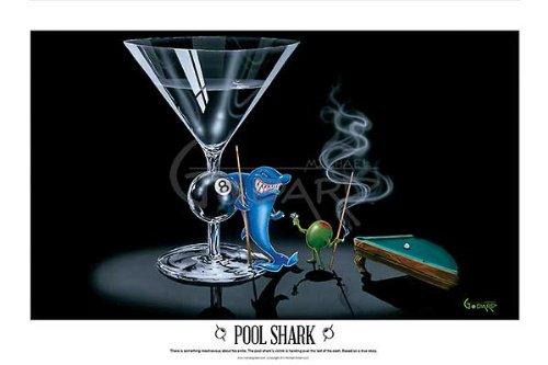 Pool Shark by Michael Godard 32