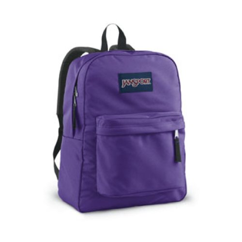 JanSport Superbreak Backpack Purple Night One Size