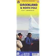 1. Greenland and Northpole Travel Reference map 1:3M/1:9M **2010** (International Travel Maps)