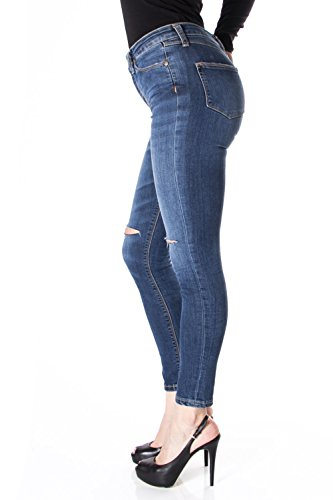 P19 SKINNY P19IET6T74 Denim STRETCH JEANS SLIM DCHIR PLEASE nWIBq6H6