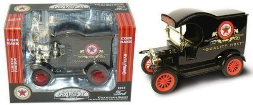 Gearbox Texaco 1912 FORD Delivery Car 1:24 Heavy Die Cast