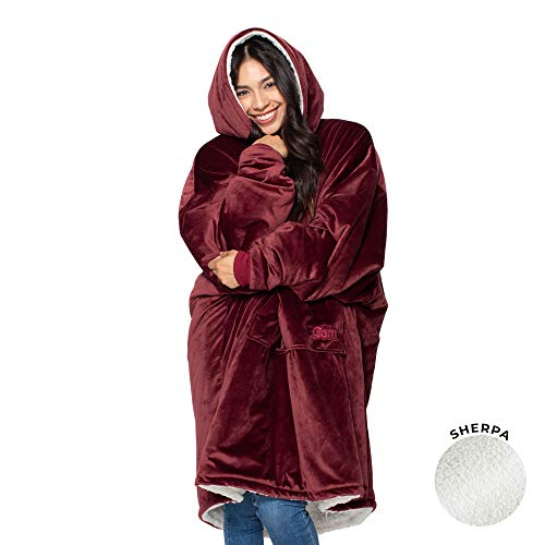 THE COMFY | The Original Oversized Sherpa Blanket Sweatshirt  - Choice of Colors