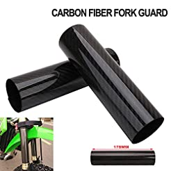Motorcycle Fork Carbon Fiber Wrap Boots ...