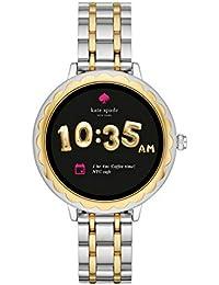Scallop Touchscreen Smartwatch, Two-Tone Stainless Steel Bracelet, 42mm, KST2007