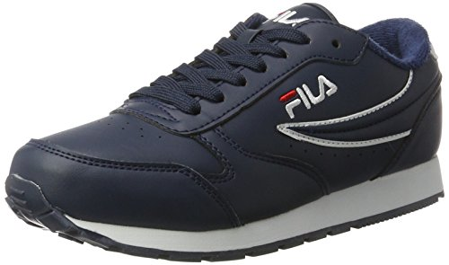 Fila Women Base Orbit Low Wmn - Zapatillas de casa Mujer Azul (Dress Blue)