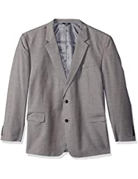 6e671e659d0 Men s Texture Weave Stretch Classic Fit Suit Separate Coat