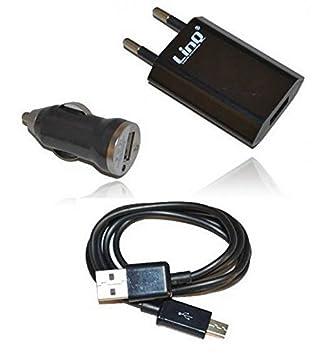 LinQ tc301s Cargador móviles y smartphones para coche y casa ...