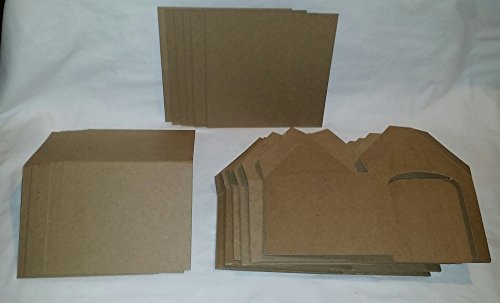 DIY Chipboard Dog Houses- Great Craft for Birthday Parties, etc. - Set of 6