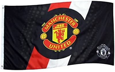 Manchester United (New stripe) Flag 5ft x 3ft