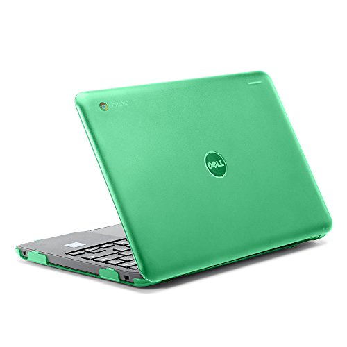 iPearl mCover Hard Shell Case for 2017 11.6 Dell Chromebook 11 3180 Series Laptop (NOT Compatible with 210-ACDU / 3120/3189 Series) (Green)