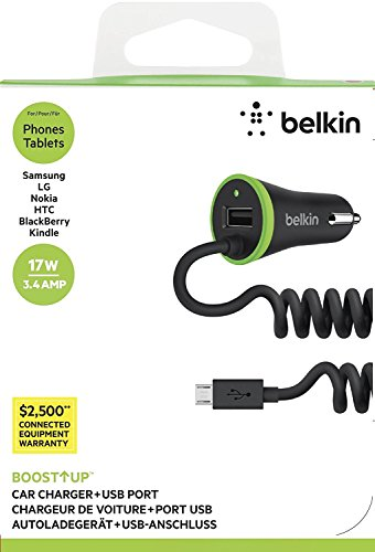 Belkin Charger Attached Micro F8m890bt04 blkp
