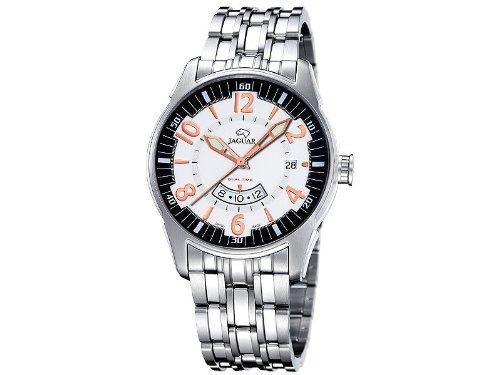 Jaguar j627/2 reloj para Hombre Analógico de Cuarzo con brazalete de Acero inoxidable J627/2: Amazon.es: Relojes