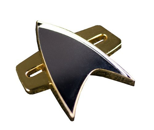 QMx Star Trek: Voyager Communicator Badge ()