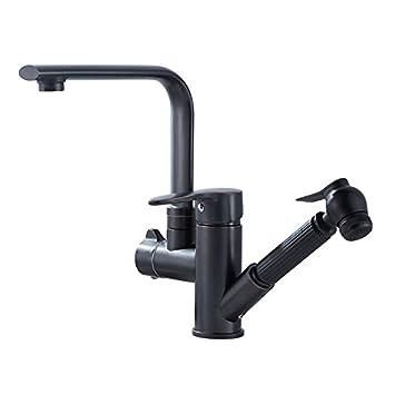 Waschbecken Mischbatterie, Chrom Modern, Bad Wasserhahn, Waschbecken  Wasserhahn, Badezimmer Badezimmer Schwarz Teleskop