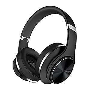 DOQAUS Bluetooth Headphones Over Ear with 3 EQ Modes, 30 Hrs Playtime Wireless Headphones, Foldable Hi-Fi Stereo Bass…