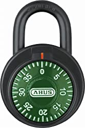 ABUS 78/50 Locker Dial Green Combination Padlock