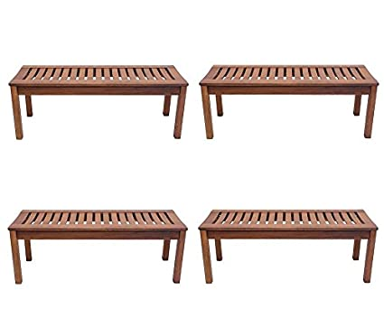 Awesome Achla Designs Backless Bench 4 Foot Pack Of 4 Alphanode Cool Chair Designs And Ideas Alphanodeonline