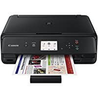 Canon PIXMA Wireless Color Inkjet All-in-One Printer (Black) + 12-Pack Eraser Caps