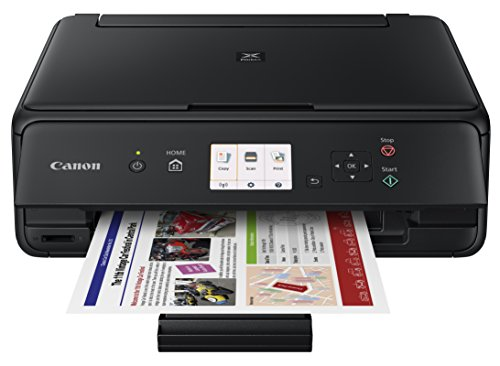 Canon Office Products PIXMA TS5020 BK Wireless color Photo Printer with Scanner & Copier, Black (Copiers Inkjet Canon)