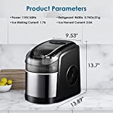 Ice Maker Machine for Countertop, Self-Cleaning