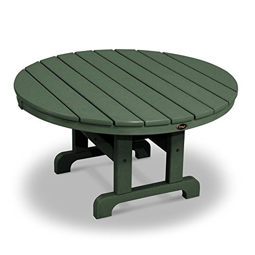 MD Group Outdoor Conversation Table Green Solid heavy Duty Lumber Weather Resistant Furniture (Sealing And Staining Outdoor Wood Furniture)