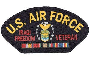 (Gift House Air Force Iraqi Freedom Veteran Patch)