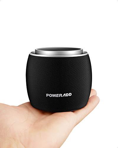 ブルートゥーススピーカー Poweradd ポータブル Bluetoothスピーカー Dee-G mini 5Wホーン‐スピーカー サブウーファ内蔵 Bluetooth4.2より速く安定した接続 小さくてかわいい iPhone、Android、PC、タブレット、スマートテレビなどに対応【2年間保証】