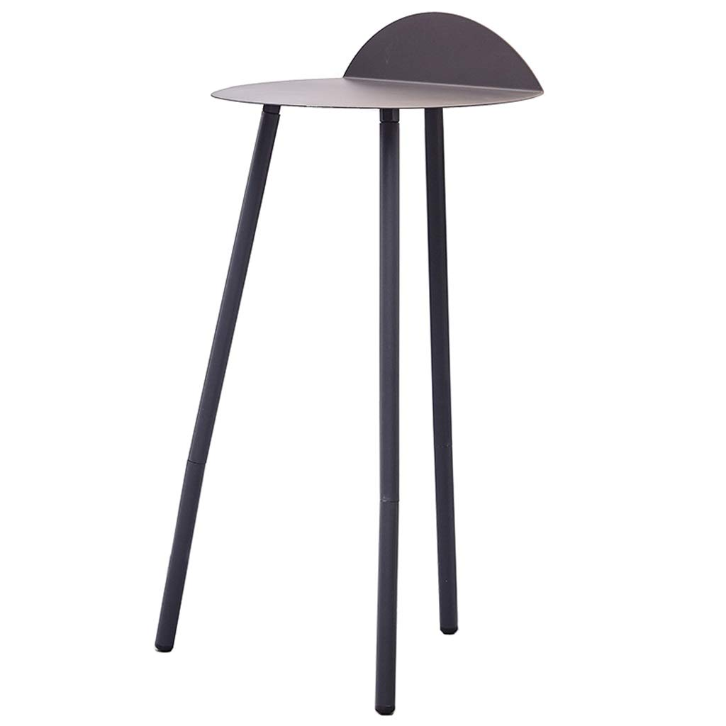 High-Legged Wrought Iron Side Table for Living Room Bedroom Study Small Table 007