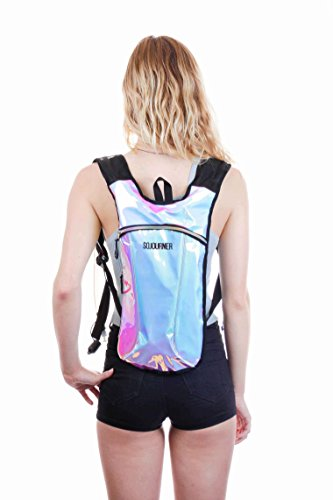 8ab72bb84c Sojourner Hydration Pack Backpack - 2L Water Bladder Included for  Festivals, Raves, Hiking,