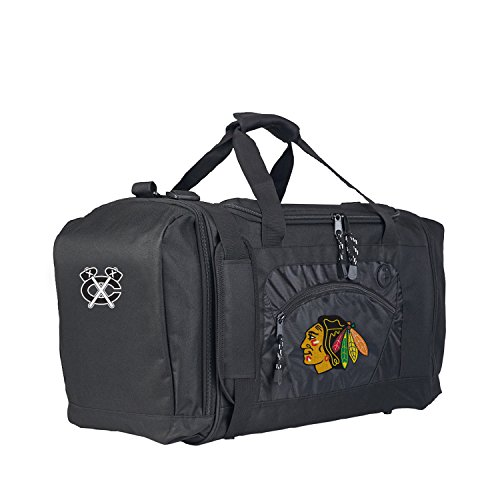Chicago Bag Blackhawks - Officially Licensed NHL Chicago Blackhawks Roadblock Duffel