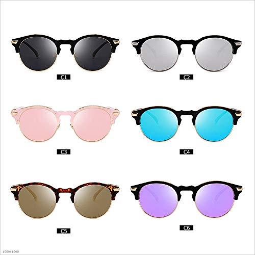 Cadre Protection Anti de qualité Joo C6 sans Semi UV de Couleur Lunettes Haute Soleil C4 de nvIwqfzT