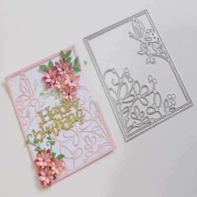 Amazon.com: DIY Metal troqueles de corte para tarjeta de ...