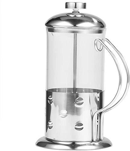 ZAP – Máquina de café de prensa francesa, vidrio de acero inoxidable, prensa francesa, taza de café, cafetera, filtros…