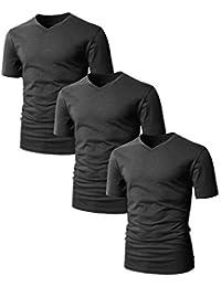 Mens Casual Premium Soft Cotton Short Sleeve T-Shirts