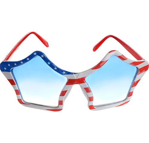 Patriotic Party Star Glasses -